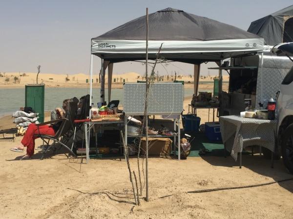 Al Qudra Set Up