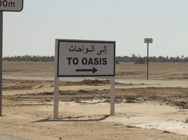 To the Oasis